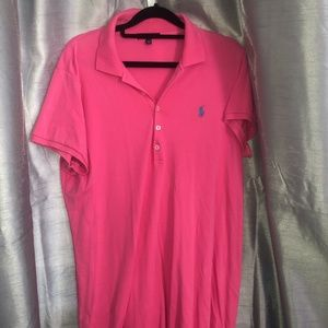 Short XL Ralph Lauren Shirt Dress